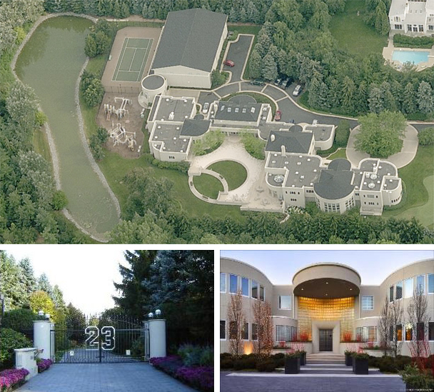 Peep out this altoghether swanky thing mansion my bro went nuts!