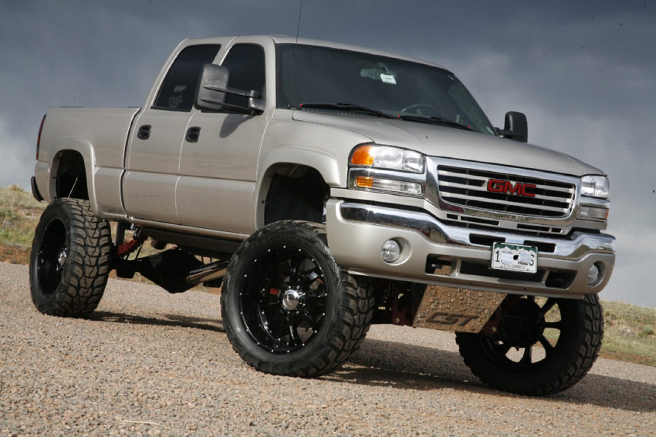 Pick up on this utterly amped truck you gonna laugh out loud :)