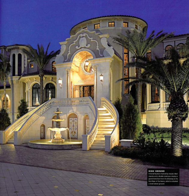Get with this utterly poppin bad boy mansion my bro laughed!!!!