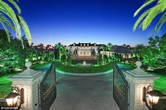Checkout this fully on fire beast mansion my dad laughed!