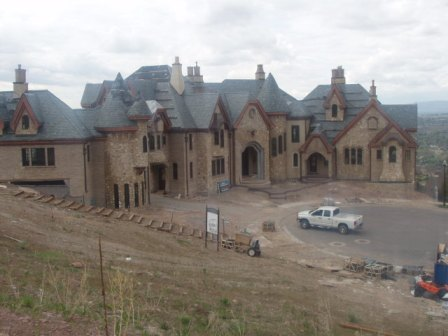 Look over this fully rad mother gripper mansion my bro went crazy!!