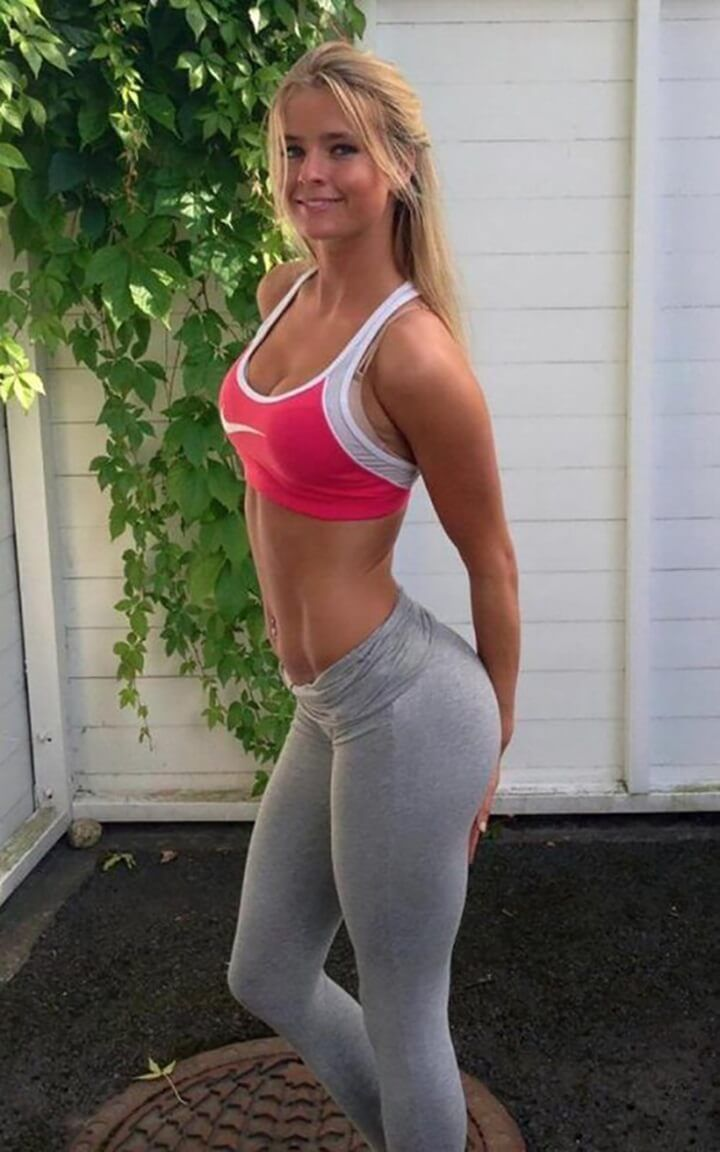 Pick up on this yoga pants wearing absolutely smokin woman that we know you will love :)