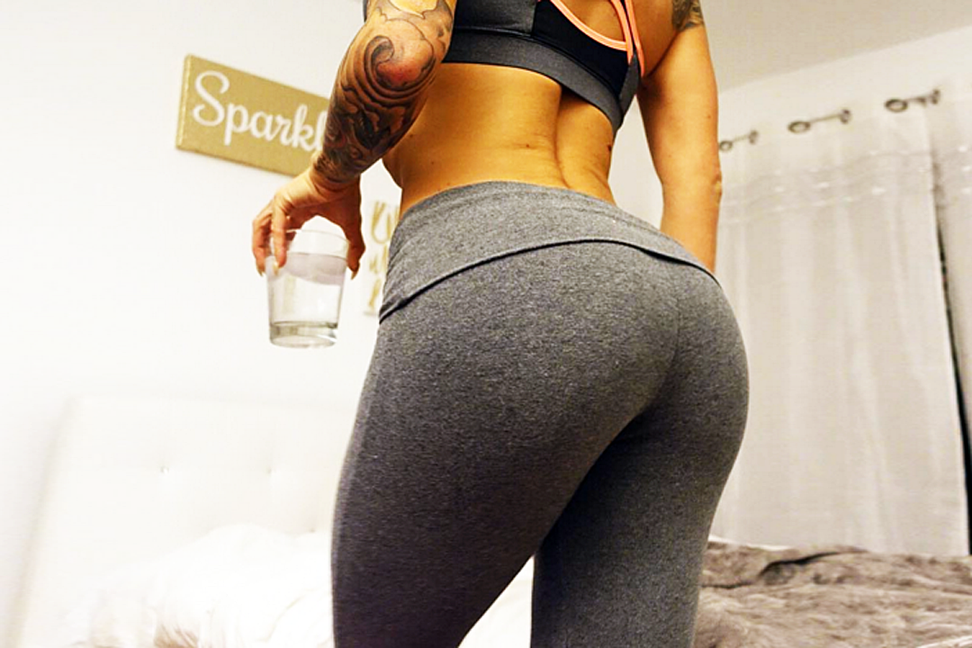 Peep out this yoga pants wearing altoghether ripping babe that we know you will get down with.