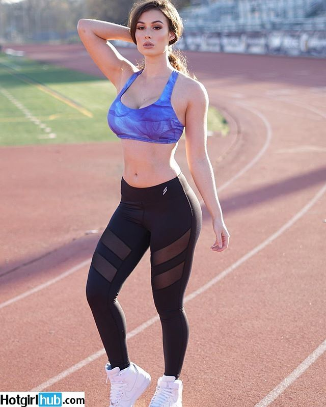 Peep out this yoga pants wearing totally smokin chick that we know you will love!!!!
