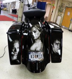 Look at this altoghether cool bike we love this bad mother!!