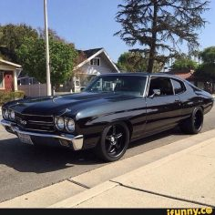 Look over this totally sweet chevelle you will tell all your friends about and trip out :)