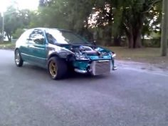 Peep out this altoghether badass civic you will get down with and cry.